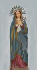 Madonna Addolorata, Cefalà Diana, Palermo, Sicily, Italy