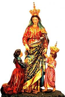 Madonna della Brina (Madonna of the Frost), Basella, Bergamo, Lombardy, Italy .